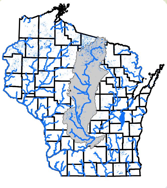 WI river basin