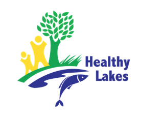 healthy lakes logo